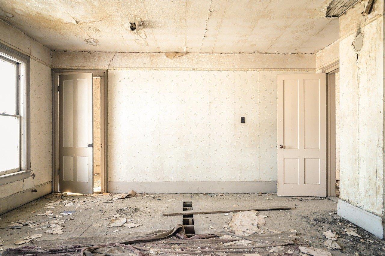 חדר לפני שיפוץ